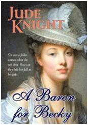 Book Cover-A Baron for Becky